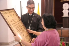 The Conference of Catholic Bishops awards Vivarium Magazine for its contribution to Cuban Culture